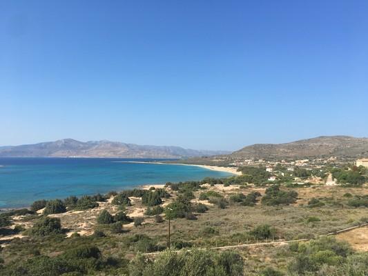 Aneratza, Paros, Paros Island Kato Nisi Beach  View from the top - by konhat