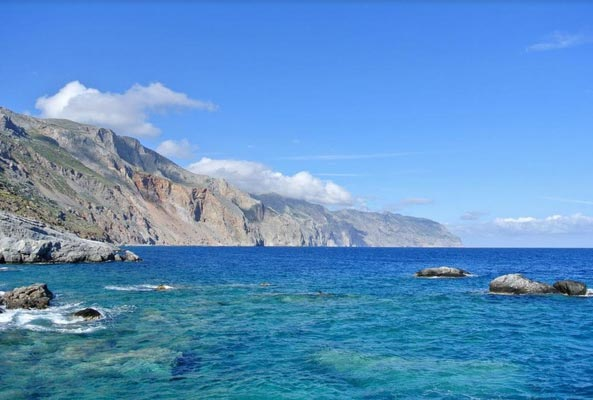 Sravromenos, Mylopotamos, Rethymno Chalara Beach  photo by Themis Karoukis
