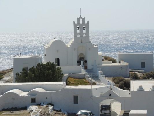 Kallithea, Kassandra, Halkidiki Chrisopigi Church  Sifnos Island