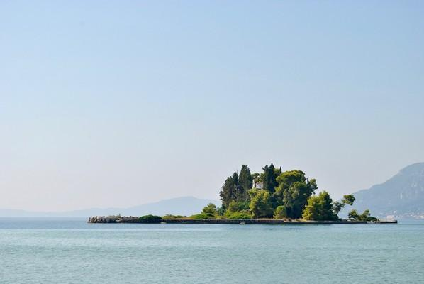 Pontikonisi Island Pontikonisi Island  Corfu