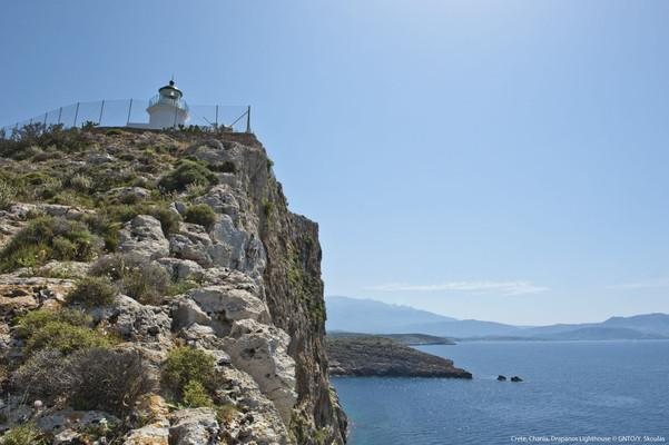 Drepano Lighthouse  photo by Y Skoulas, www.visitgreece.gr
