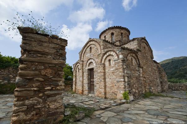 Nevropoli, Central Tzoumerka, Arta Panagia Fodele Church  photo by Y Skoulas, www.visitgreece.gr