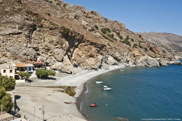 Leptopoda, Chios, Chios Island Maridaki Beach  photo by Y Skoulas, www.visitgreece.gr