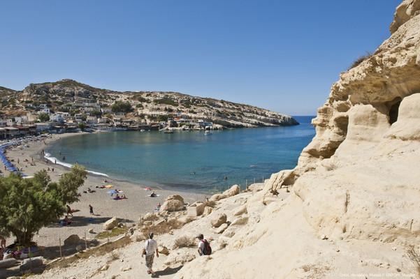 Kefala, Ierapetra, Lasithi Matala Beach  photo by Y Skoulas, www.visitgreece.gr