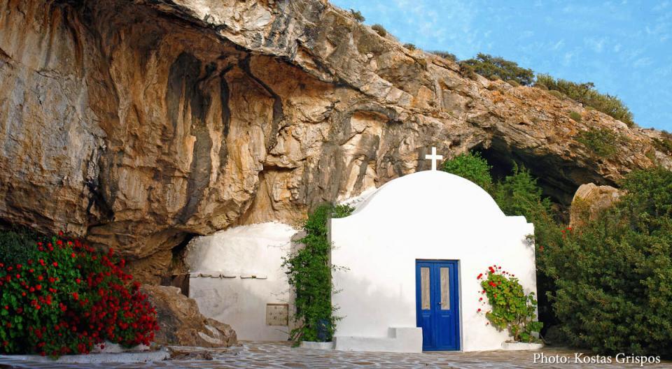Antiparos Island Cave of Antiparos  photo by Kostas Grispos