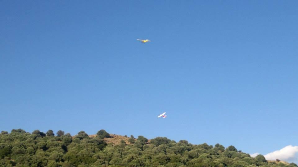 Myrina, Lemnos<br>Aeromodelling in Myrina, Lemnos island.  Photo by Joy Aerials