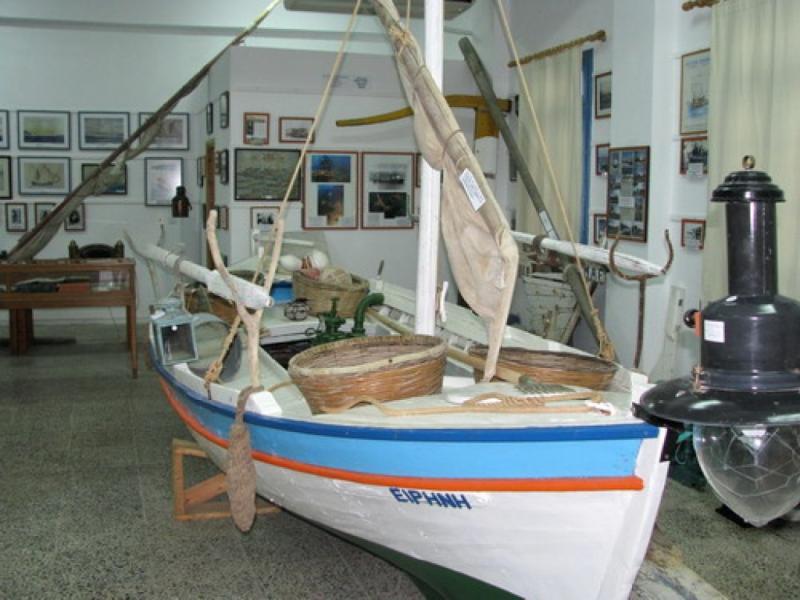 Milos Island Naval Museum of Milos  photo by www.milos.gr