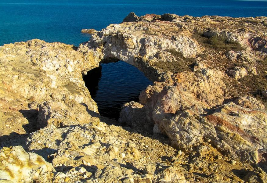 Romano, Lemnos<br>Seal cave in Moudros, Lemnos island. Photo by Ioannis Galiouris