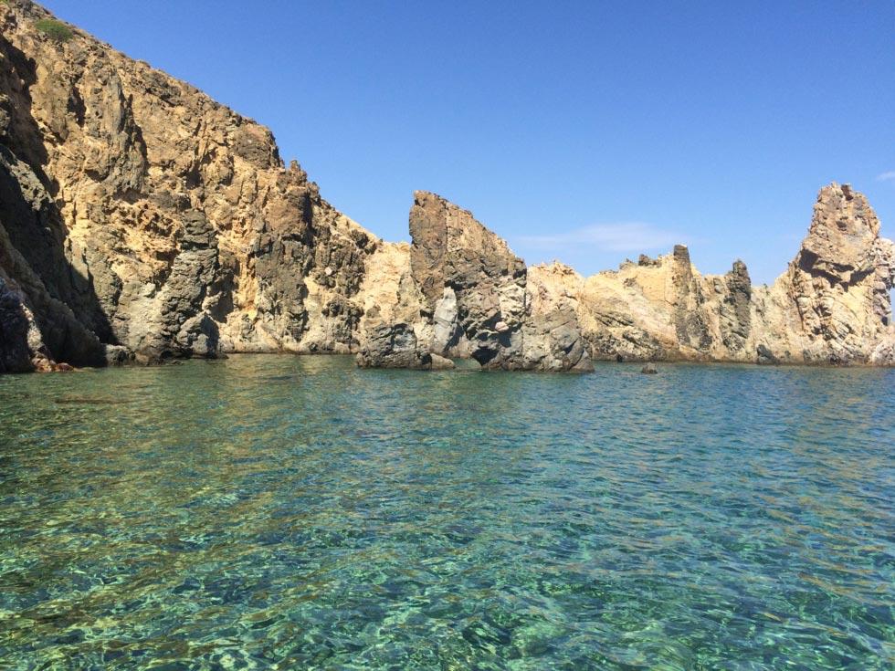 Patmos Island somewhere in Patmos island  emerald waters