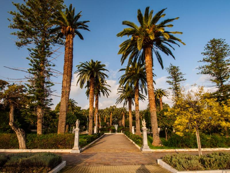 Chios Island Municipality Garden  Michael Tetteris/ Chios Tourism Department archive