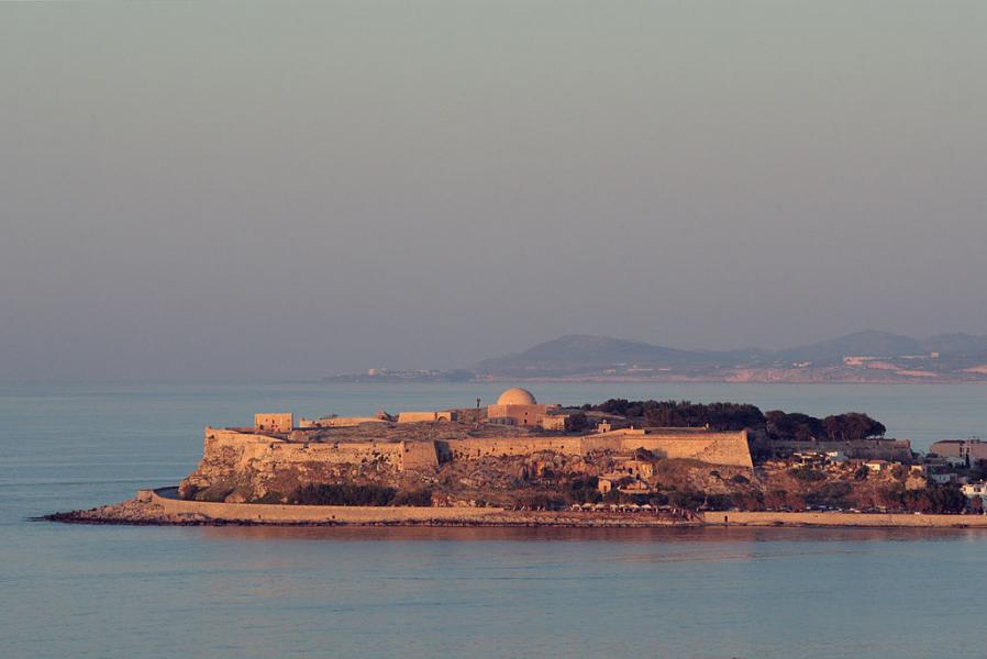 Stiladari, Sithonia, Halkidiki The Fortezza fortress  photo by Jerzy Strzelecki commons.wikimedia.org