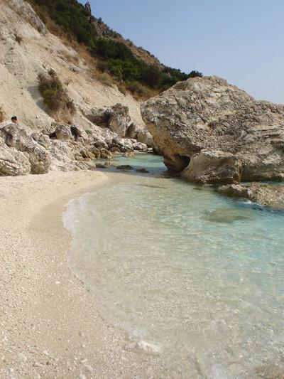 Agios Prodromos, Poligiros, Halkidiki Lefkada Island  Agiofili beach - by tintin