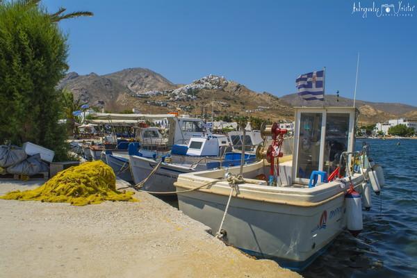 Kato Valsamonero, Rethymno, Rethymno Serifos   Serifos fishing boats - by Χρήστος