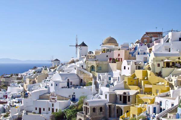 Oia, Santorini, Santorini Island Oia village  Love Greece - by Eleni