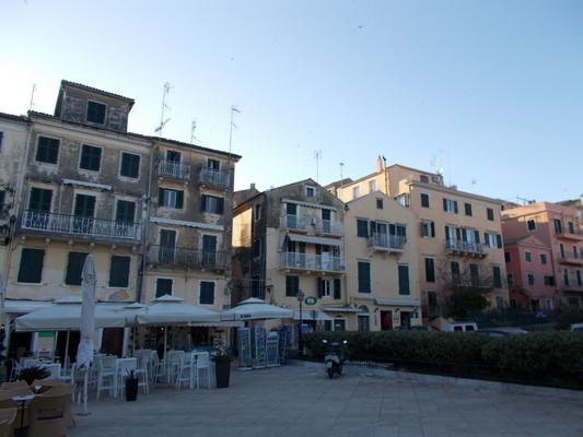 Corfu Town, Corfu, Corfu Island old houses  corfu - by κκ