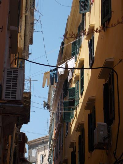 Corfu Town, Corfu, Corfu Island laundry  corfu - by κκ
