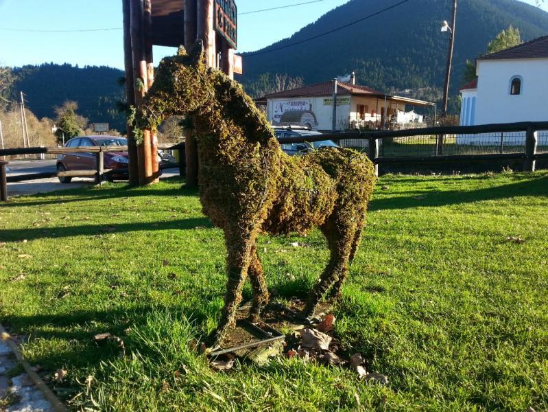 Karpenisi, Karpenisi, Evrytania Saloonpark  Το πράσινο αλογάκι