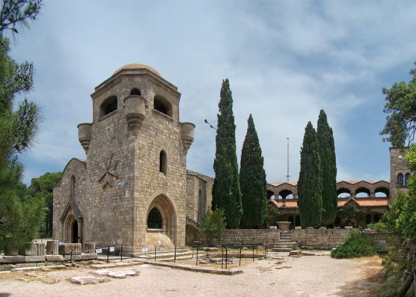 Ialysos, Rhodes, Rhodes Island Monastery of Filerimos