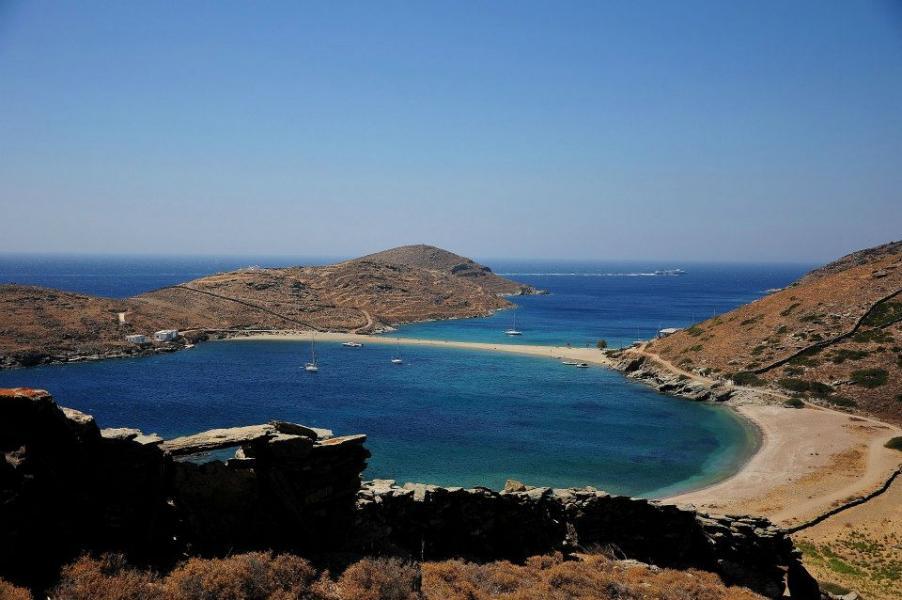 Kythnos Island Kolones beach  Copyright: Δήμος Κύθνου - Municipality of Kythnos
