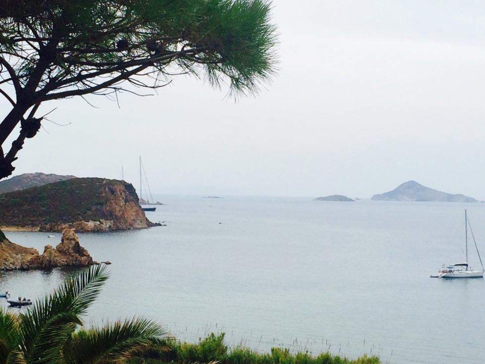 Patmos Island meloi beach  -