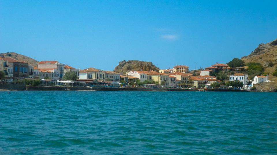 Myrina, Lemnos<br>Romeikos gialos at Myrina, Lemnos island.