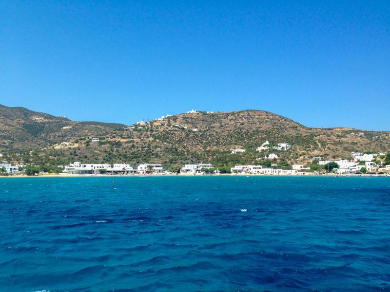 Sifnos Island Platis Gialos beach