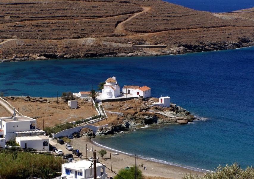 Merichas, Kythnos, Kythnos Island Flabouriani Church  photo by Kostas Mavrakis