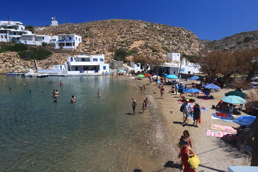 Sifnos Island Cherronisos Beach  photo by www.sifnos.gr