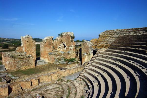 Timenio, Argos Mykines, Argolis Odeon of Ancient Nicopolis  photo by Bgabel, wikipedia.org