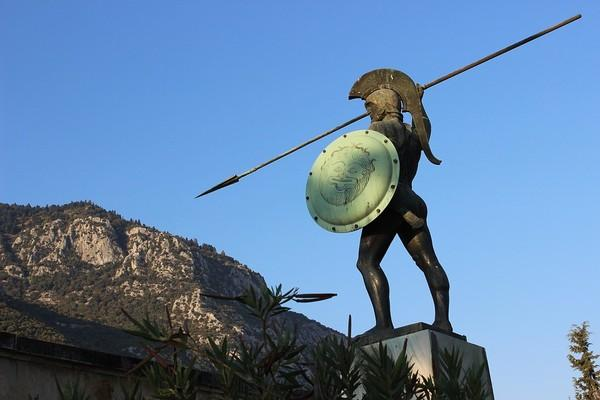 Potistika, Georgios Karaiskakis, Arta Monument of Leonidas  photo by pixabay.com