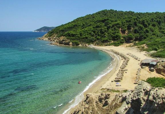 Lagonisi, Sithonia, Halkidiki Agkistros Beach  Skiathos Island