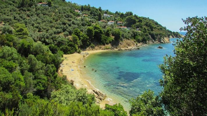 Diamantis Beach  Skiathos Island