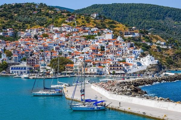 Skopelos Town, Skopelos, Skopelos Island Skopelos Town  Skopelos Island