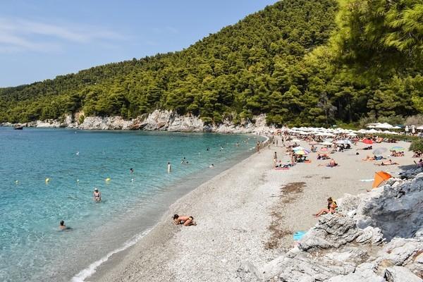 Ormos Agiou Ioannou, Thiva, Boeotia Kastani Beach  Skopelos Island