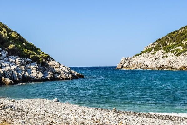 Pirgos Sani, Kassandra, Halkidiki Glysteri Beach  Skopelos Island