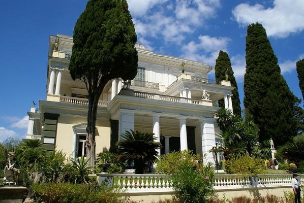 Mavroudi, Igoumenitsa, Thesprotia Achilleion Palace  Corfu Island