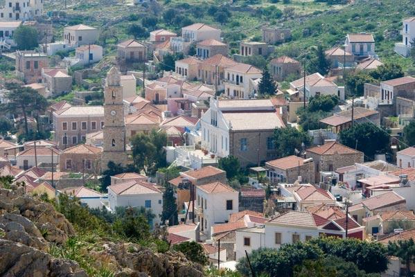 Antirrio, Nafpaktia, Aetolia-Acarnania Clock Tower of Chalki  photo by Municipality of Chalki