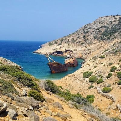 Varlaam, Dodoni, Ioannina Shipreck  Worth the walk... - by Kallirroe