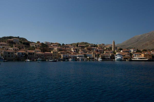 Halki Town, Halki, Halki Island Chalki  photo by Municipality of Chalki
