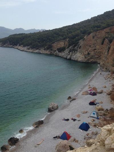 Glinado, Naxos, Naxos Island Agkistri   Chalkiada beach - Agkistri - by konstantina_g