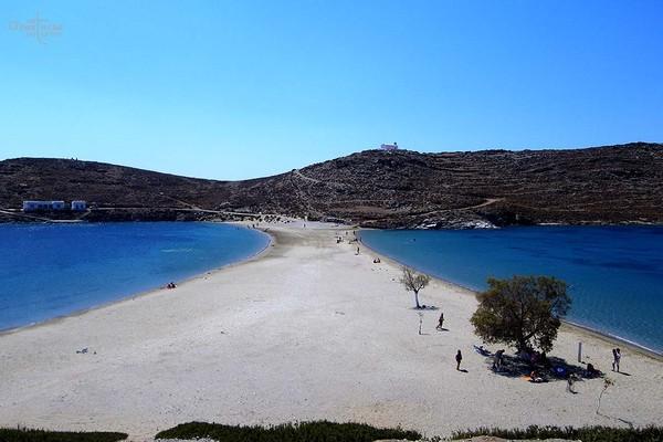 Dafni, Tanagra, Boeotia Kolona beach  Kythnos, Greece - by anastasiaf