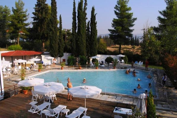 Prosilia, Georgios Karaiskakis, Arta Park Ipatis Baths  photo by www.lamia.gr
