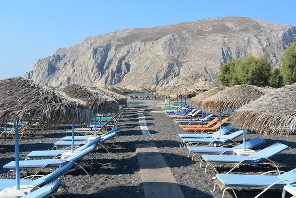 Avoros, Dorida, Phocis Kamari Beach  Santorini Island