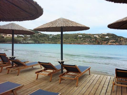 Kini, Syros, Syros Island Kini Beach  Kini Beach - by Loukia