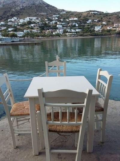 Kini, Syros, Syros Island Tavern at Kini Beach  Tavern at Kini Beach - by Loukia