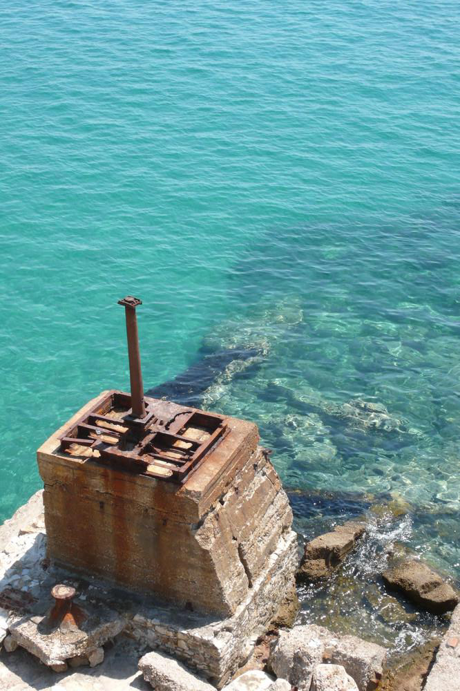 Limenaria, Thasos<br>Παλιές εγκαταστάσεις μεταλλείων - by Yiota
