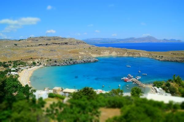Kipi, Kimi Aliveri, Euboea Lindos Beach - Megalos Gialos Beach  photo by pixabay