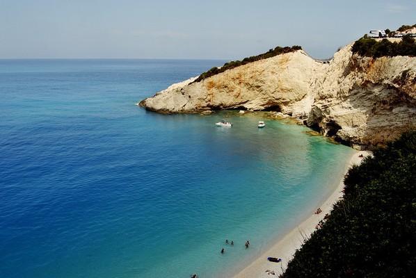 Vracha, Karpenisi, Evrytania Porto Katsiki Beach  photo by pixabay