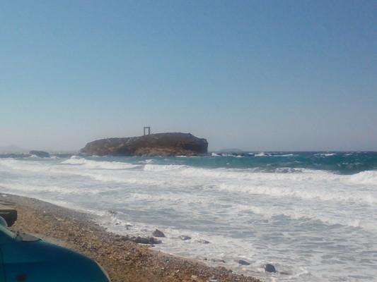 Kato Monokaria, Istiea Edipsos, Euboea Naxos Island  Portara - by Κυριακή