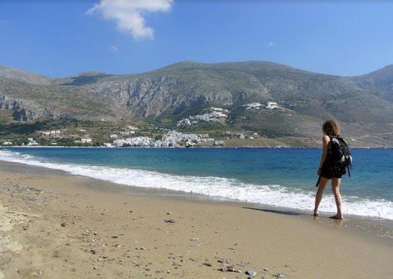 Skouloufia, Rethymno, Rethymno Levrossos Beach  photo by Themis Karoukis